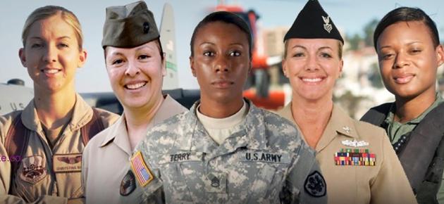 Women vets slide