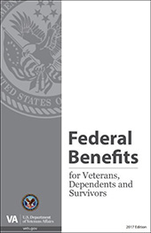 Federal Benefits for Veterans, Dependents and Survivors Publication cover