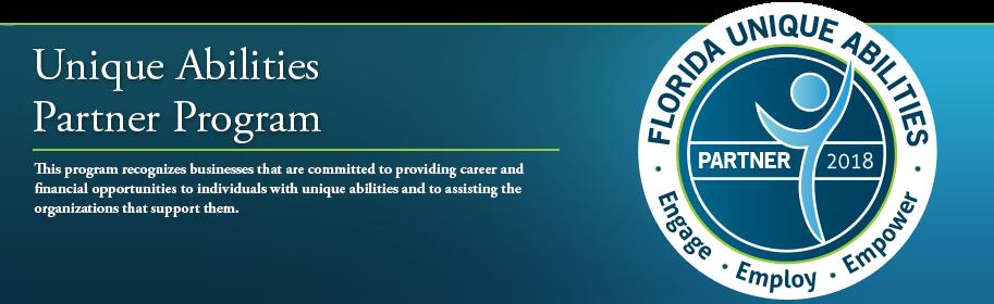 Florida Unique Abilities Partner Program Logo
