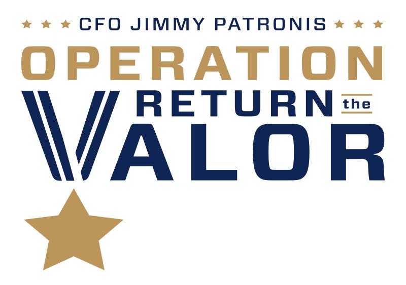 Operation Return the Valor logo