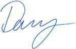 Danny Burgess signature